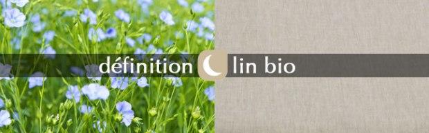 lexique des matières naturelles Noctéa lin bio