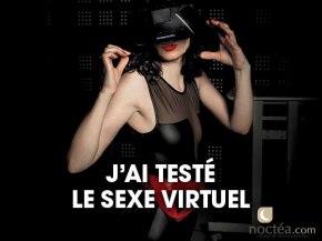 Demain le sexe sera virtuel