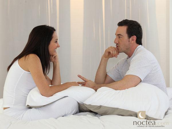 Le couple et la literie